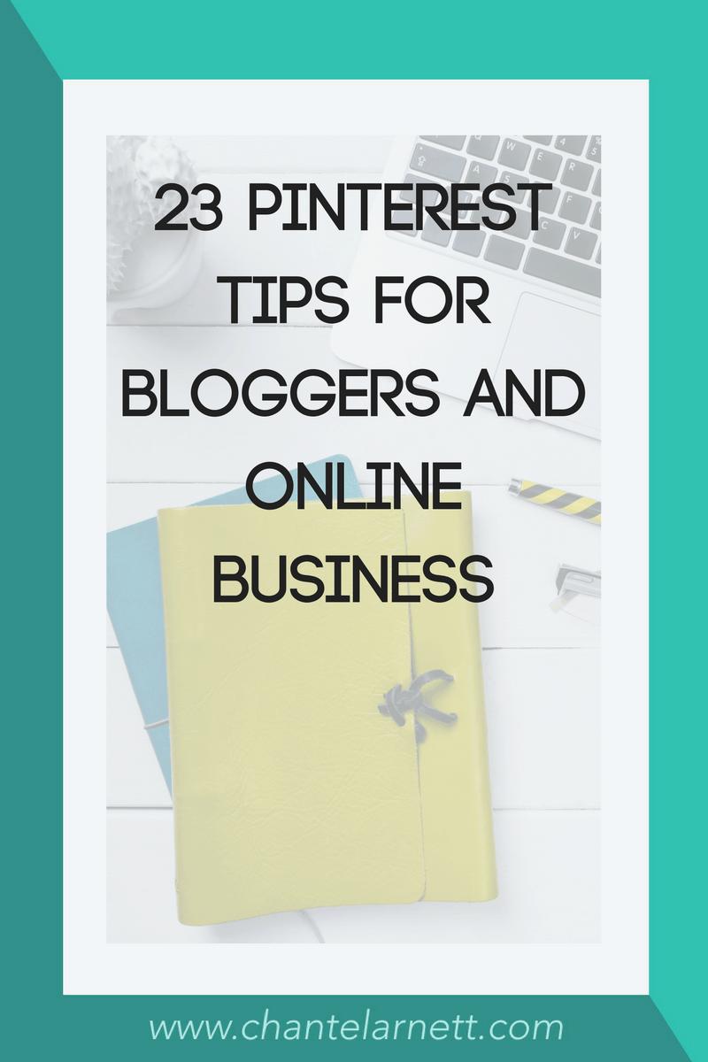 23 Pinterest Marketing Tips