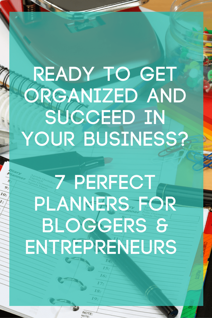 Blog Planners for Entrepreneurs