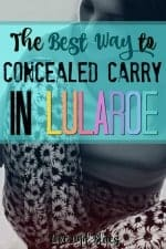 Concealed Carry in Lularoe