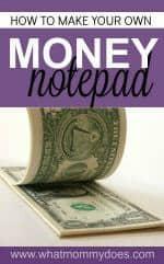 Money Notepad