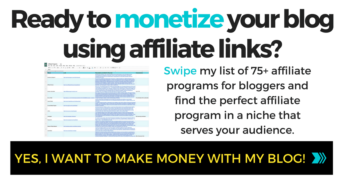 ARE YOU READY TO MONETIZE YOUR BLOG USING AFFILIATE LINKS?