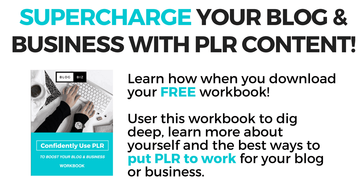 Confidently Use PLR Content