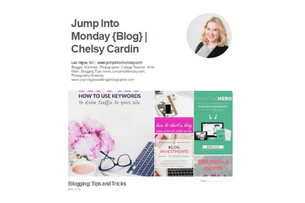 pinterest tips for bloggers