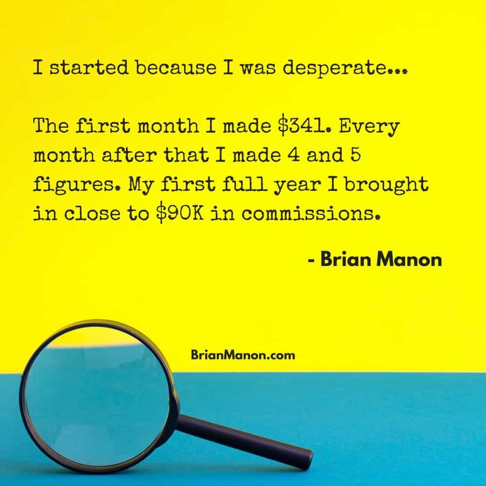 Brian Manon, Online Marketer
