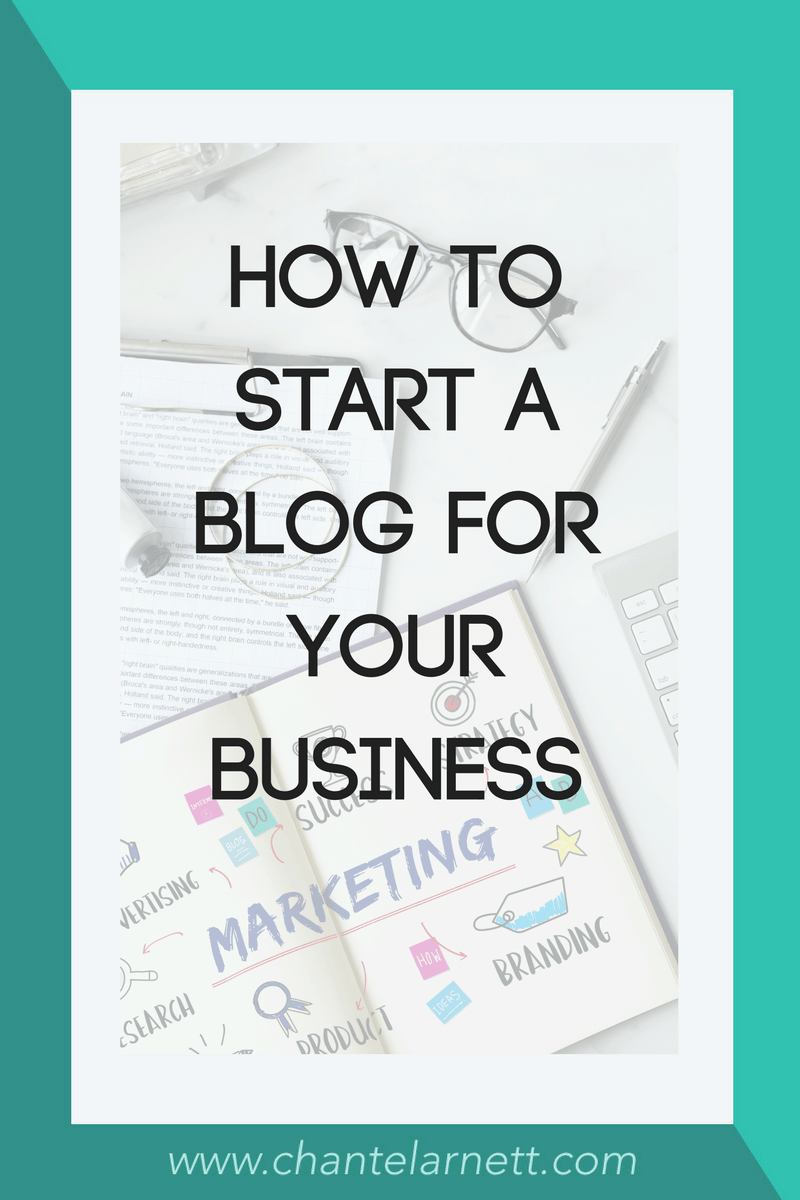 How to Start a Blog for Business