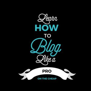 How to Blog Like a Professional on the Cheap