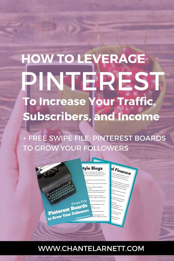 Want to learn how to use Pinterest to increase your traffict? Pinterest for Profits teaches you not only how to get traffic, but also how to convert that traffic into more subscribers and more income!