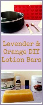 Lavender & Orange DIY Lotion Bars-min