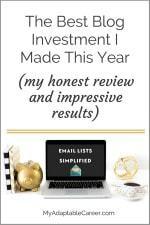 Best Blog Investment