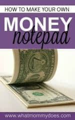 Money Notepad