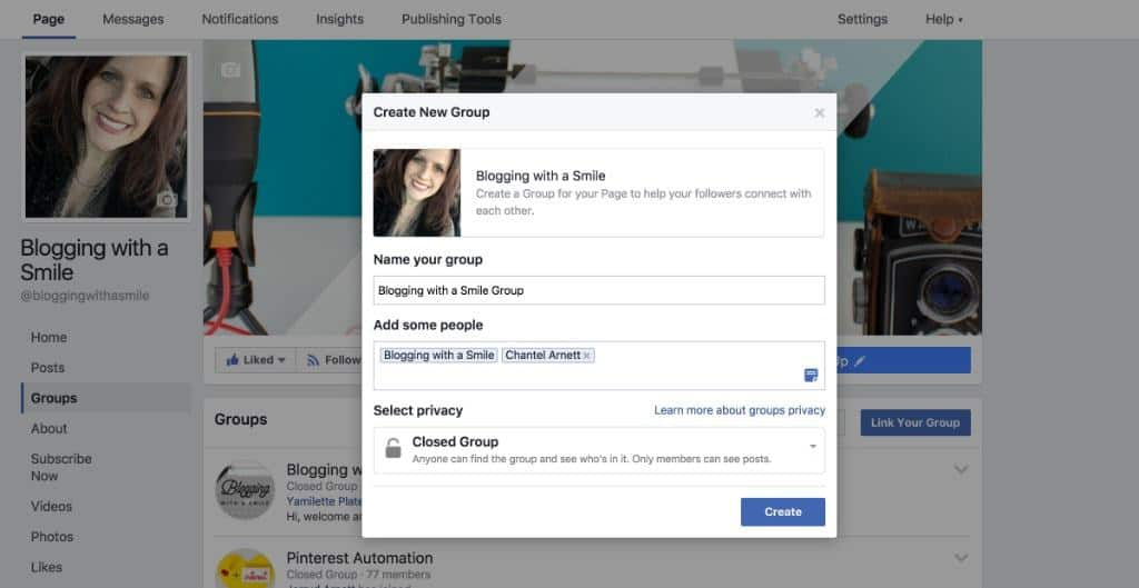Did you know that you can link your Facebook group to your Facebook page? You can and here's how!